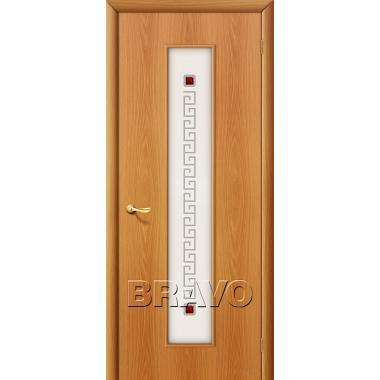 Межкомнатная дверь 21Х Л-12 (МиланОрех)