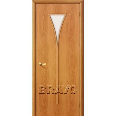 Межкомнатная дверь 3С Л-12 (МиланОрех)