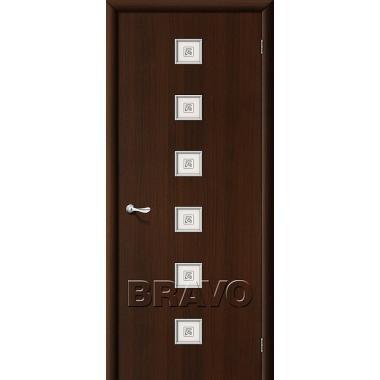 Межкомнатная дверь Квадро Л-13 (Венге)