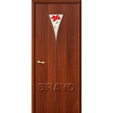 Межкомнатная дверь 3П Л-11 (ИталОрех)