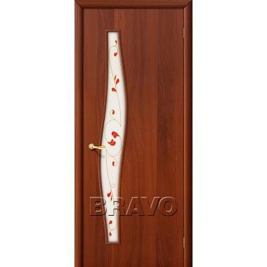 Межкомнатная дверь 6П Л-11 (ИталОрех)