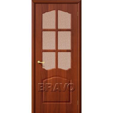 Межкомнатная дверь Лидия П-11 (ИталОрех)