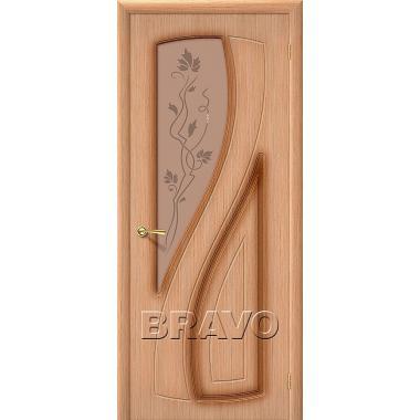 Межкомнатная дверь Лагуна Ф-01 (Дуб)