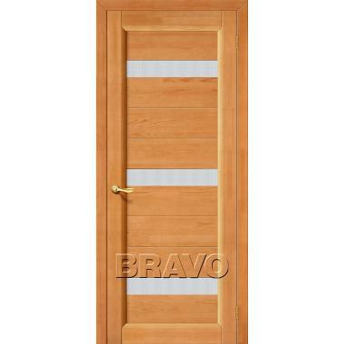 Межкомнатная дверь Вега-2 (ПЧО) Т-30 (Светлый Орех)