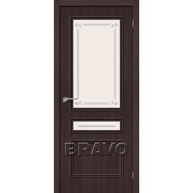 Межкомнатная дверь Симпл-15.2 Wenge Veralinga