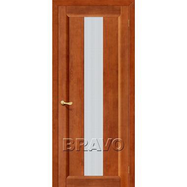 Межкомнатная дверь Вега-18 Т-31 (Темный Орех)