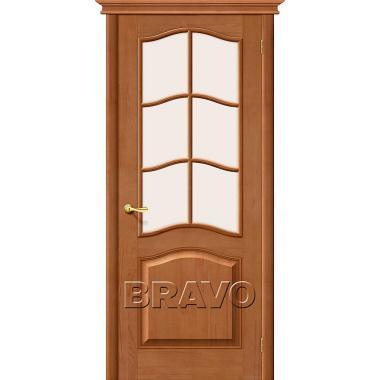 Межкомнатная дверь М7 Т-05 (Светлый Лак)
