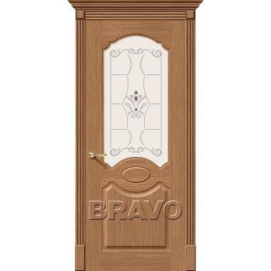 Межкомнатная дверь Селена Ф-02 (Дуб)