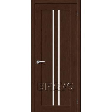 Межкомнатная дверь Евро-14 Ф-25 (Венге)