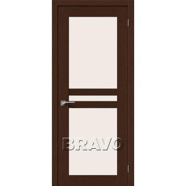Межкомнатная дверь Евро-24 Ф-25 (Венге)