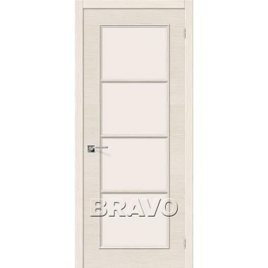 Межкомнатная дверь Евро-41 Ф-23 (БелДуб)