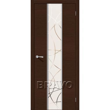 Межкомнатная дверь Карат Ф-27 (Венге)