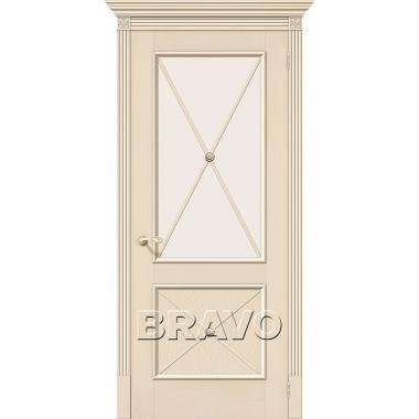 Межкомнатная дверь Луи II Д-15 (Ваниль)