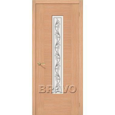 Межкомнатная дверь Рондо Ф-01 (Дуб)
