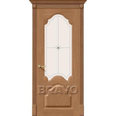 Межкомнатная дверь Афина Ф-02 (Дуб)