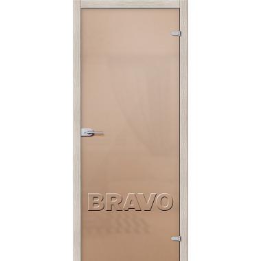 Межкомнатная дверь Лайт Бронза Сатинато